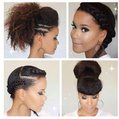 Cute protective styles - Cute protective styles The Effective Pictures We Offer You About hair women A quality picture can - Natural Hair Tips, Natural Hair Inspiration, Natural Hair Journey, Natural Curls, Natural Hair Styles, Going Natural, Protective Styles, Protective Hairstyles, Scene Hair