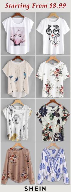 Starting from $8.99! Casual Attire, Casual Chic, Back To School Outfits, Trendy Outfits, Spring Outfits, Girl Outfits, Sweater Shirt, Work Shirts, Spotlights