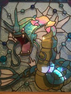 Gyarados Stained Glass Window #pokemon #nintendo #gaming
