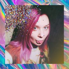 peony pink hair