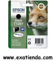 Ya disponible Cartucho Epson c13t1281 negro    (por sólo 17.95 € IVA incluído):   -Compatible con: Epson Stylus Office BX305F Epson Stylus Office BX305FW Epson Stylus S22 Epson Stylus SX125 Epson Stylus SX420W Epson Stylus SX425W  -Color: Negro Garantía de fabricante  http://www.exabyteinformatica.com/tienda/1983-cartucho-epson-c13t1281-negro #epson #exabyteinformatica