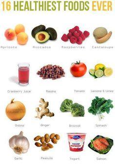16 healthiest goods ever