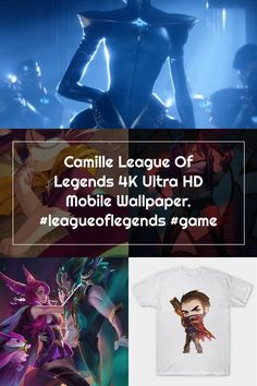 Camille League Of Legends 4K Ultra HD Mobile Wallpaper. #leagueoflegends #game Camille League Of Legends, Mobile Wallpaper, Game, Venison, Wallpaper For Mobile, Phone Wallpapers, Games, Gaming, Toy