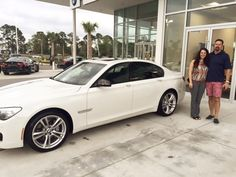 Carrie & Chris M. recently purchased this superb new BMW 740i with Josh S. at our location in Daytona Beach. Please join us in congratulating both Carrie & Chris as we warmly welcome them to the @fieldsbmw and @fieldsautogroup families! Congratulations Carrie & Chris! #FieldsBMW #newcar #congratulations #BMW7Series #BMW740i #Florida #FieldsBMW #BMW #Florida