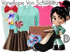 Disney Bounding Vanellope Von Schweetz