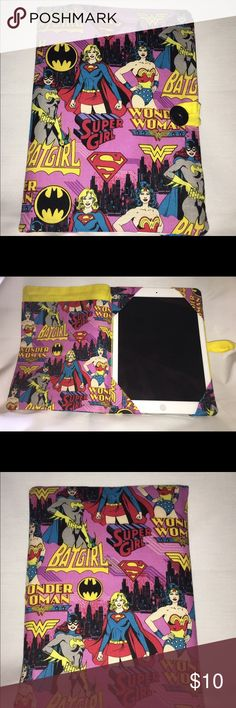 Wonder Woman iPad cover Fits iPad 2, iPad Air and other like sized ereaders Accessories Tablet Cases