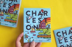 """Check out this @Behance project: """"Charleston Travel Guide"""" https://www.behance.net/gallery/49791653/Charleston-Travel-Guide"""