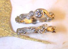 Unique Engagement Wedding Rings Bands | Diamonds | Rings Unique | Diamond Wedding Rings | Austin, TX