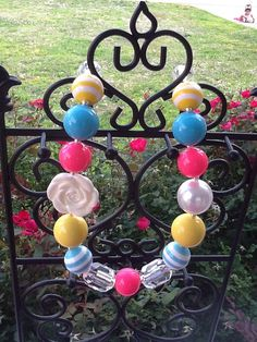 Children's Chunky Beaded Necklaces by MySweetSprinklings on Etsy, $18.00