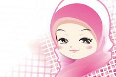 Pastel hijab chibi, luv it!