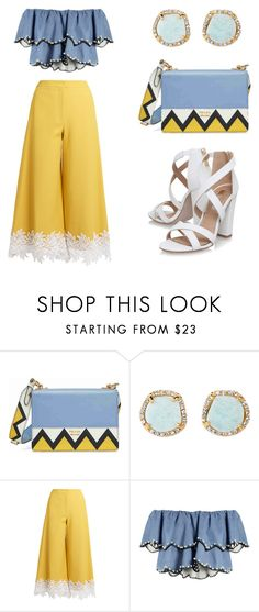 """""""hello."""" by bonolon on Polyvore featuring Prada, Louise et Cie, Sara Battaglia, HUISHAN ZHANG and Miss KG"""