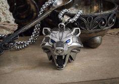 The Witcher 3 medallion handmade Bear school head necklace Wild hunt pendant | eBay