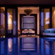 Hôtel Banyan Tree Al Wadi, Emirat de Ras Al Khaimah, Emirats arabes unis.