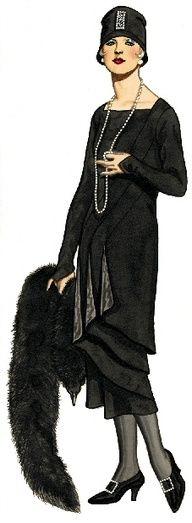 Inspired by historic fashion | www.myLusciousLife.com - Art Deco Fashion
