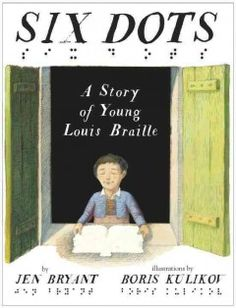 An inspiring picture book biography of Louis Braille describes how after losing his eyesight in early childhood he wanted to read so much that he invented a touch alphabet that became a standard that is still in use today