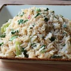 Bok Choy Steamed Rice - Allrecipes.com