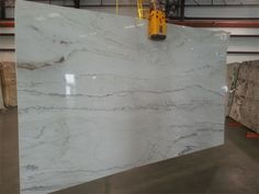 White Macaubas quartzite for kitchen and bathroom countertops in Columbia, South. White Macaubas q White Macaubas Quartzite, White Quartzite Countertops, Bathroom Countertops, White Kitchen Counters, White Kitchens, Layout Design, Design Ideas, Simple Kitchen Design, Kitchen Designs