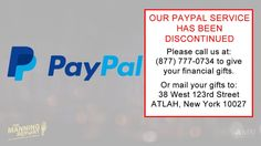 PayPal Has Canceled Our Account