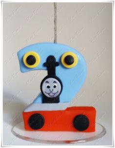 Vela Personalizada Thomas e Seus Amigos