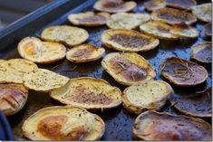 Gold Rush: Yukon Gold Potato Chips with Rosemary and Sea Salt   Choosing Raw – vegan and raw recipes