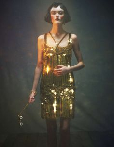 Femme-Fatale Flapper Fashion : Sam Rollinson February 2012 How To Spend It