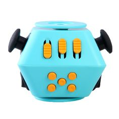 5 colors Mini Funny Cube Spinner Toy Desk Stress Cube, Cube Toy, Spinner Toy, Stress Relief Toys, How To Relieve Stress, Anxiety, Mini, Funny, Amazon