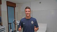 Luca Siligardi har forstuvet venstre knæ!