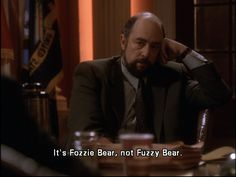 Toby Ziegler. The West Wing.