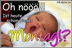 Montag Bilder - Jappy GB Pics - Wochentage - 003-baby-montag.jpg