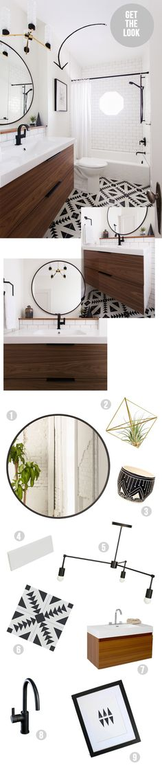 get the look bathroom
