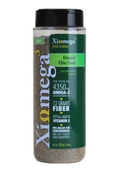 Xiomega3 Ground Chia Seed, 10 oz $10.99
