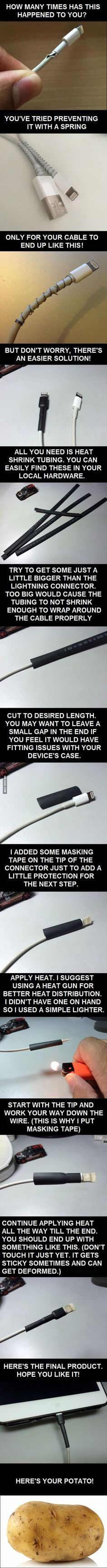 For Those Tired of Their Cables Breaking