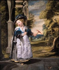 Jordaens, Jacob | Portrait of the Painter's Daughter Anna Catharina