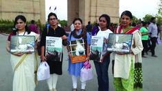 Born of web | Delhi marches for Shaktiman, seeks justice - Born of web