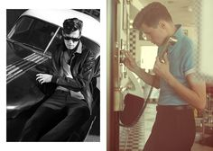 Cool In The Heat :: Reiss SS14 High Summer Photoshoot :: Americana