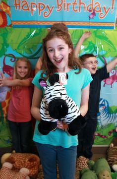 Zebra stuffed plush toy makes a great gift! http://www.plushez.com