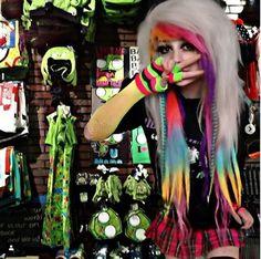 Scene Kids, Emo Scene, Alternative Outfits, Alternative Fashion, Beans Image, Emo Princess, Scene Outfits, Rawr Xd, Cybergoth