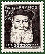 Charles Gounod [1818-1893] was a French composer, best known for his Ave Maria as well as his opera Faust. Another opera by Gounod, occasionally still performed, is Roméo et Juliette.