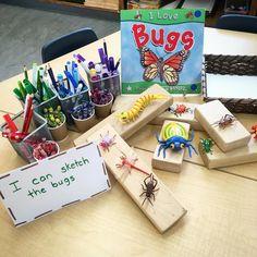 I can sketch the #bugs #earlyyears #iteachk #earlychildhoodeducation #emergentcurriculum #reggioinspired