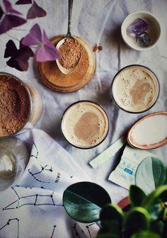 luscious reishi chocolate milk via The First Mess