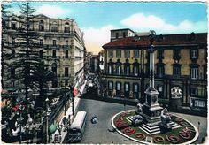 NAPOLI - Piazza dei Martiri - 1958