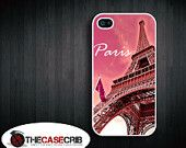 iPhone Case Paris eifel tower for iPhone 4s and 4