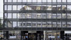 Bleicherweg 21 in Zürich: Pfosten-Riegel-Fassade #architektur