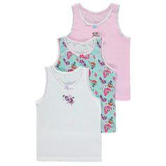 Girls My Little Pony Vests 3 Pack