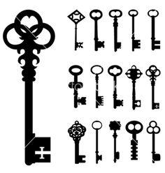 Keys vector 160473 - by jackrust on VectorStock�