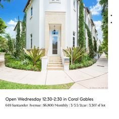 Mauricio J. South Miami, South Florida, Miami Houses, Stills For Sale, Coconut Grove, Coral Gables, Waterfront Homes, Luxury Real Estate