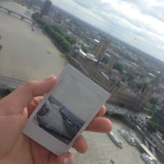 Polaroid! #londoneye