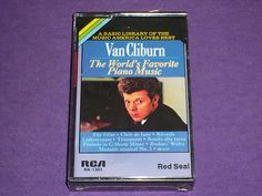 Van Cliburn - World's Favorite Piano Music - Sealed Cassette Tape - RCA RK-1303
