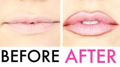 How To Fake (Full) Lip Injections (tricks every girl can use):