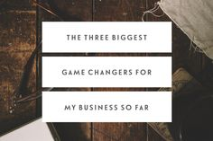 The Three Biggest Game Changers For My Business So Far — Jennypurr